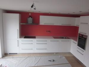 Montiranje kuhinje v Idriji